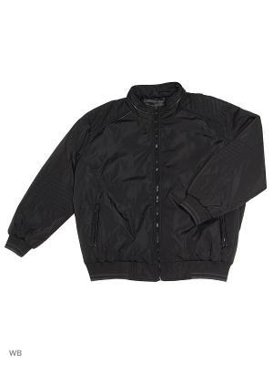 Куртка OLSER. Цвет: черный