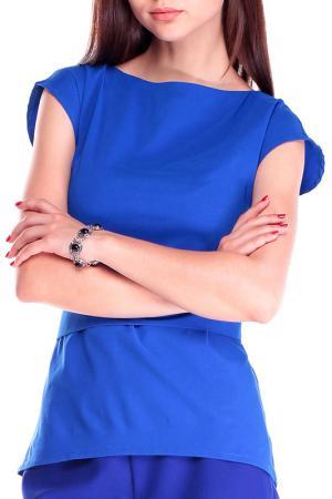 Блуза Laura Bettini. Цвет: электрик