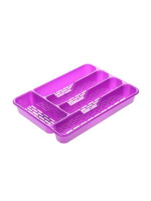 Сушилка для столовых приборов Migura. Цвет: фиолетовый