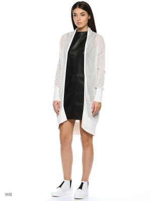 Кардиган DKNY. Цвет: белый