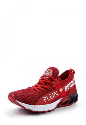 Кроссовки Plein Sport. Цвет: красный