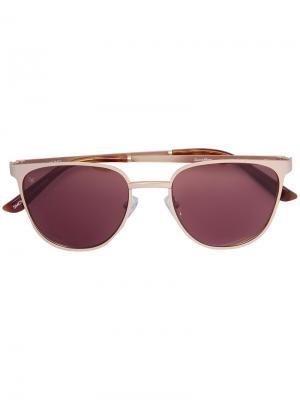 Солнцезащитные очки Money Smoke X Mirrors. Цвет: металлический