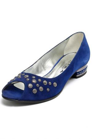 Туфли Mafra. Цвет: синий