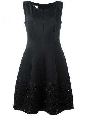 Платье Gomma Talbot Runhof. Цвет: чёрный