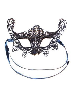 Карнавальная маска Lola. Цвет: темно-синий