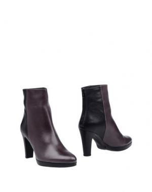 Полусапоги и высокие ботинки EYE. Цвет: свинцово-серый