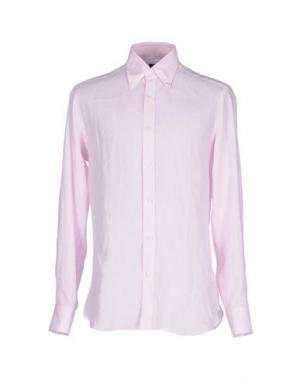Pубашка BARBA NAPOLI. Цвет: розовый