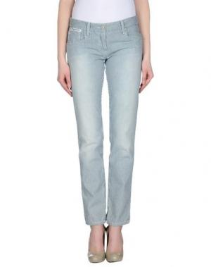 Повседневные брюки DIVINA. Цвет: синий