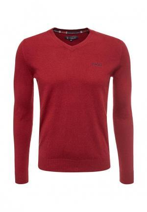 Пуловер Lion of Porches. Цвет: бордовый