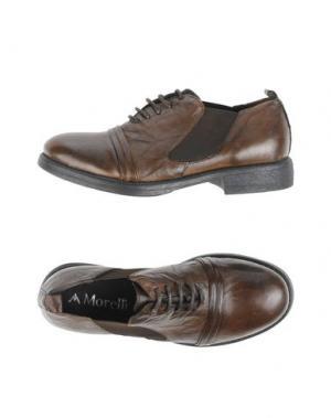 Обувь на шнурках ANDREA MORELLI. Цвет: какао
