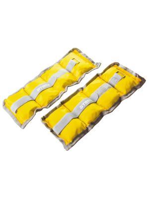Утяжелители нейлоновые 1,0 кг х 2 Atemi. Цвет: желтый