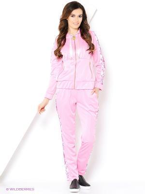 Спортивный костюм ZAYKINS. Цвет: розовый
