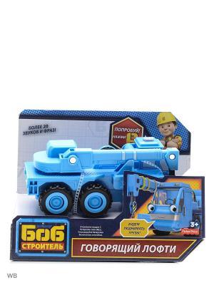 Боб-строитель Говорящие транспортные средства Mattel. Цвет: голубой