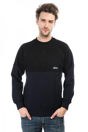 Толстовка свитшот  Cr Combo Navy Light Anteater. Цвет: синий,черный