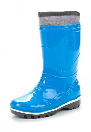 Резиновые сапоги Modis. Цвет: синий