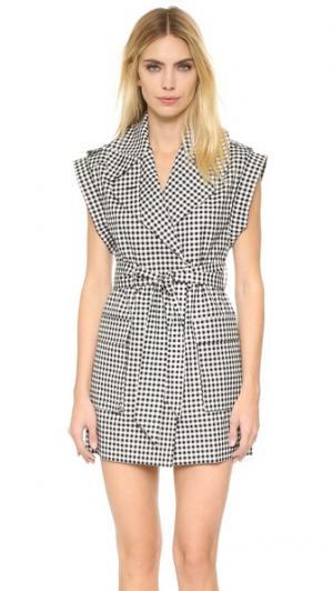 Платье-жилет Bobbie KEMPNER. Цвет: клетка