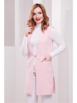 Кардиган Fashion Up. Цвет: розовый