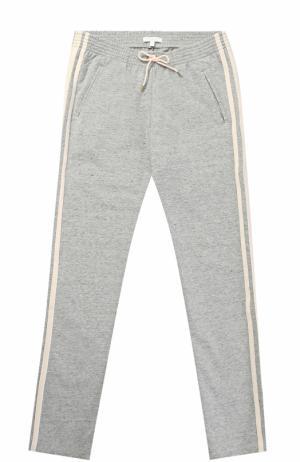 Спортивные брюки с лампасами Chloé. Цвет: серый