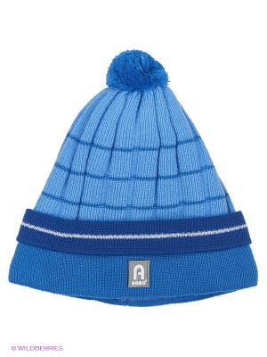 Шапка Agbo. Цвет: голубой