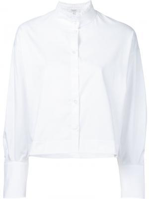 Stand collar shirt Atlantique Ascoli. Цвет: белый