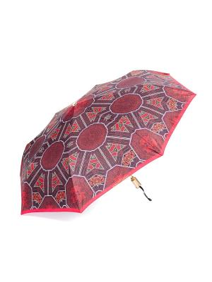 Зонт Slava Zaitsev. Цвет: красный, бежевый