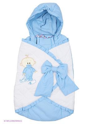 Конверт для малышей Батик. Цвет: голубой