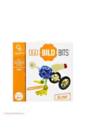 Конструктор-игра OgoBild Bits Blink. Цвет: белый, оранжевый