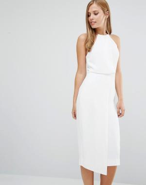 Keepsake Платье Clockwork. Цвет: белый