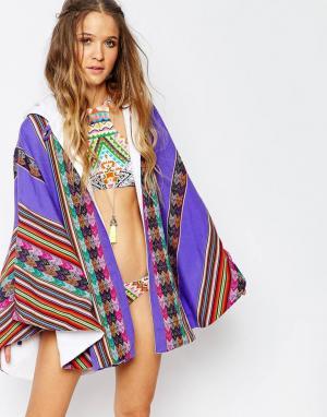 Pitusa Накидка-полотенце Inca. Цвет: лаванда