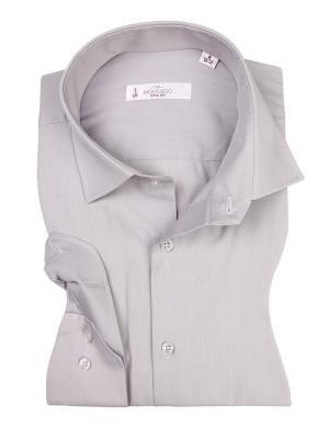 Рубашка MONDIGO. Цвет: серый