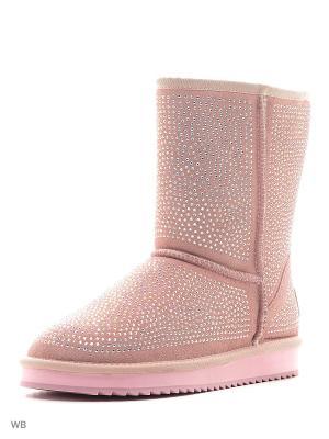Угги Amazonga. Цвет: розовый