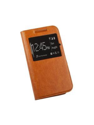 Чехол LP раскладной универсальный для телефонов размер XL 130х66мм (оранжевый/коробка) Liberty Project. Цвет: оранжевый