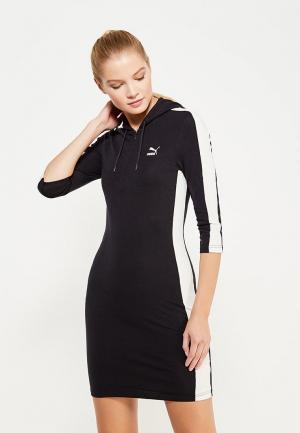 Платье PUMA. Цвет: черный