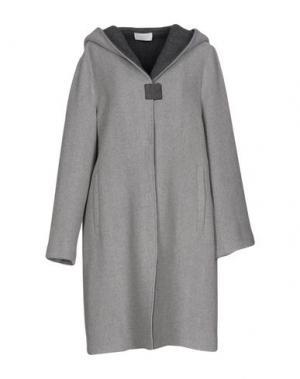 Пальто CALALUNA. Цвет: серый