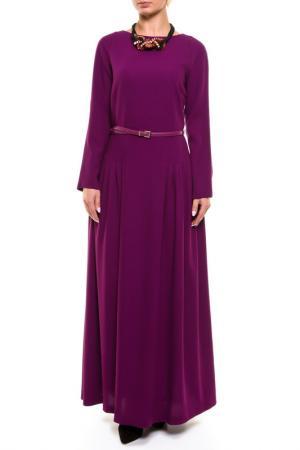 Платье NATALIA PICARIELLO. Цвет: фиолетовый
