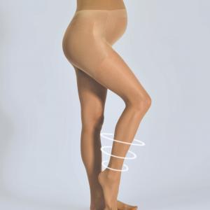 Колготки для периода беременности ACTIVLIGHT CACHE COEUR. Цвет: телесный,черный