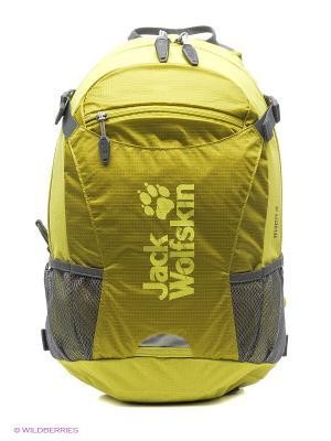 Рюкзак VELOCITY 12 Jack Wolfskin. Цвет: желтый