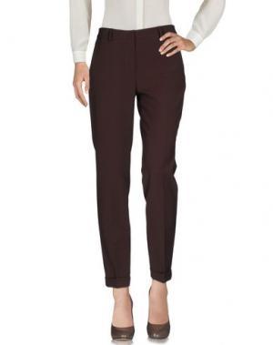 Повседневные брюки F.IT. Цвет: темно-коричневый