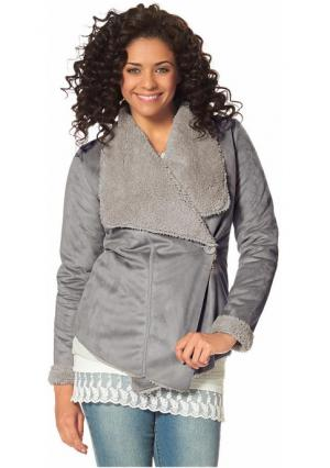 Куртка BOYSENS BOYSEN'S. Цвет: серый, черный