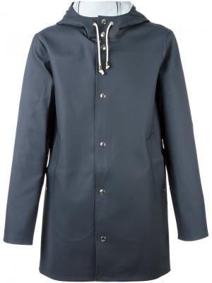 Stockholm raincoat Stutterheim. Цвет: серый