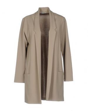 Легкое пальто HOPE COLLECTION. Цвет: серый