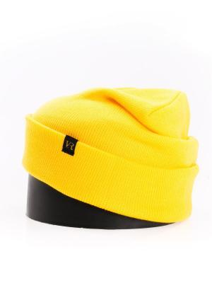Шапка Vittorio Richi. Цвет: желтый