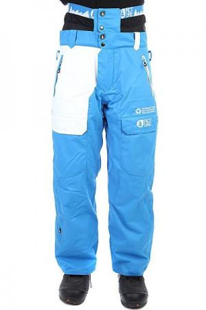 Штаны сноубордические  Pant Profile Blue Picture Organic. Цвет: синий