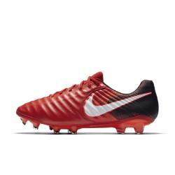 Футбольные бутсы для игры на твердом грунте  Tiempo Legend VII Nike. Цвет: красный