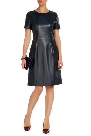 Платье Izeta. Цвет: темно-синий
