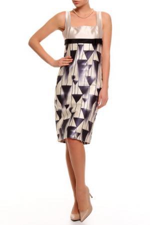 Платье 6267. Цвет: серый