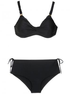 Hot pants bikini set Lygia & Nanny. Цвет: чёрный