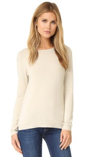 Пуловер Basic с округлым вырезом 525 America. Цвет: французская ваниль