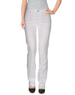 Повседневные брюки SEVEN7. Цвет: белый