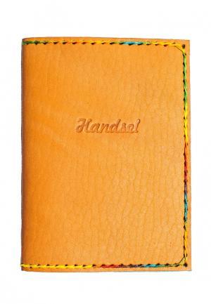 Обложка для документов Handsel. Цвет: оранжевый